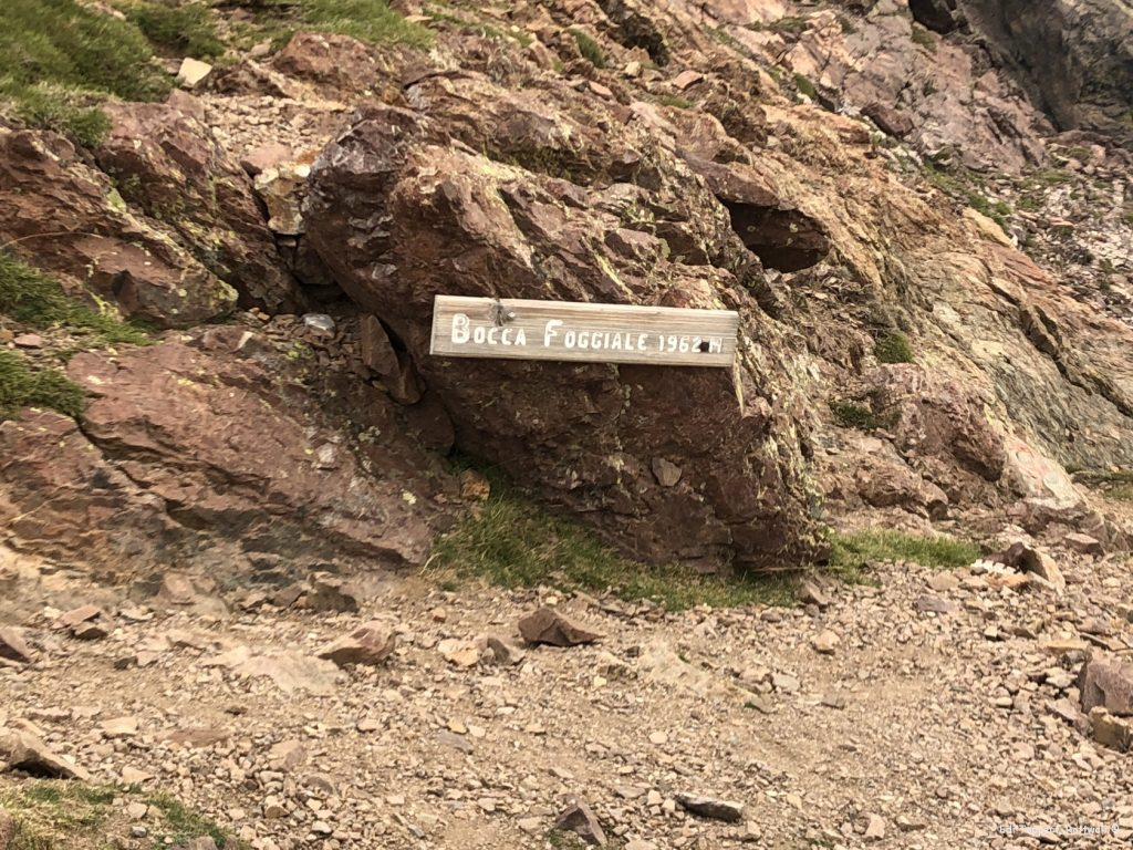 Über den Boccia Foggiale knapp 2000 m hoch