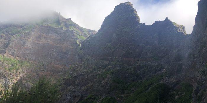 Aussicht zum Pico Ruivo