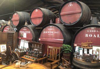 Weinhandlung in Funchal