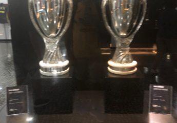 Pokale im Museu CR7 in Funchal