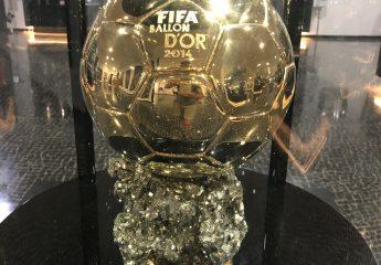 Pokal im Museu CR7 in Funchal