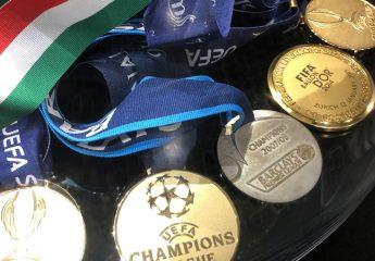 Medaillen im Museu CR7 in Funchal