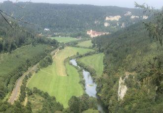Aussichtspunkt ins Donautal